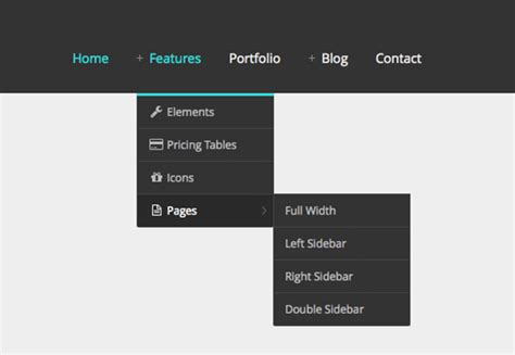 html drop menu templates free website templates free html5 with css3 javascript