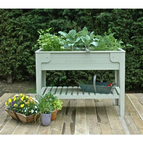 Raised Garden Planter by Objects Of Design 64 Living Larder Raised Planter Mad