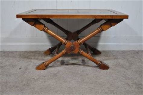 Fisherman Table L by Vintage Slate Top Isiah L Jefferson Fisherman Ship Nautical X Form Side Table Ebay