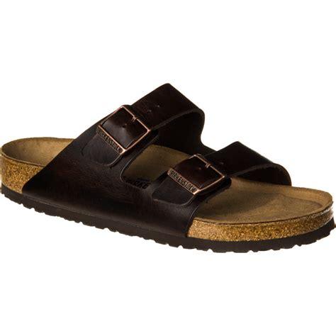 birkenstock arizona soft footbed sandal birkenstock arizona soft footbed leather sandal s