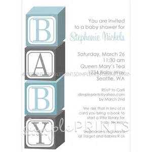 baby blocks printable shower invitation dimple prints shop