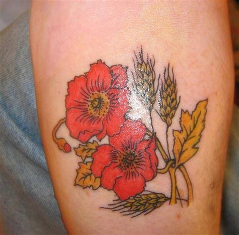 poppy flower tattoo kang for prez 2012 flickr