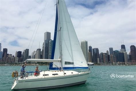 boatsetter chicago rent a 1987 31 ft pearson 31 pearson in chicago il on