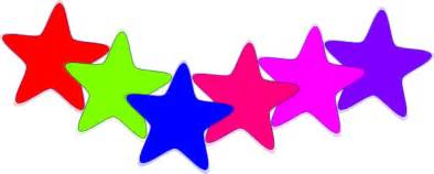 Colorful star clip art at clker com vector clip art online royalty