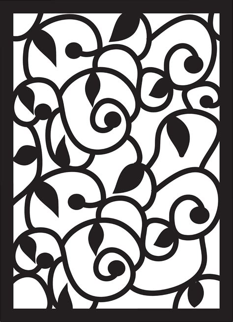 svg pattern download paper pulse blog spot swirls leaves and curls pattern