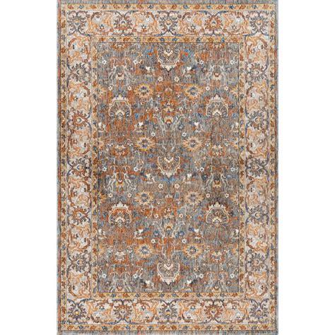 rugs 7 x 9 tayse rugs fairview multi 6 ft 7 in x 9 ft 6 in area rug fvw3201 7x10 the home depot