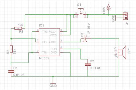 layout pcb bel rumah hyt c rangkaian bel sederhana