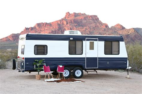 Camper Remodel Ideas by Camper Makeover How To Repaint A Travel Trailer