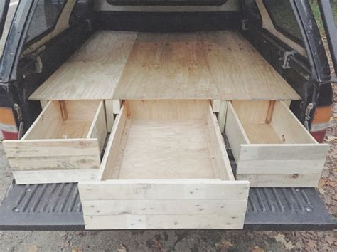 diy wood truck bed diy truck bed cer made completely from reclaimed wood