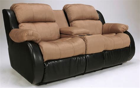 presley cocoa reclining sofa presley cocoa double reclining loveseat with console