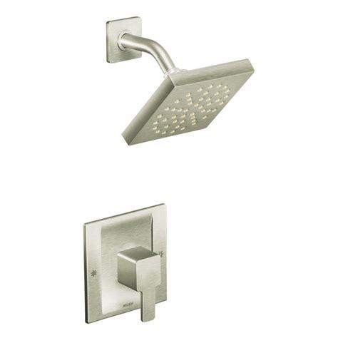 Brushed Nickel Shower faucet 835bn in brushed nickel by moen