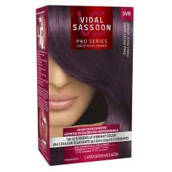 vidal sassoon pro series hair color vidal sassoon pro series hair color 3vr velvet violet