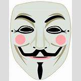 Anonymous Mask Drawing | 616 x 800 png 64kB