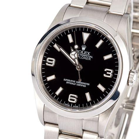 rolex explorer 114270 s at bob s watches