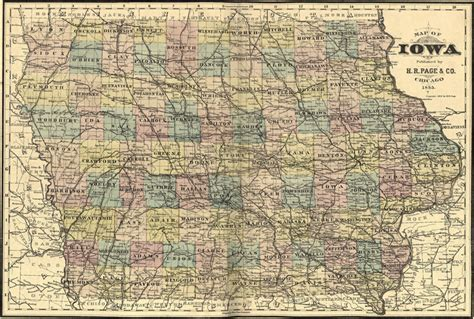 history of marshall county iowa classic reprint books iowa state h r page 1885 historic map reprint
