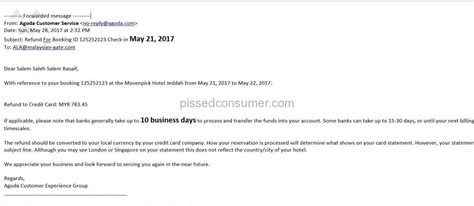agoda cancel booking agoda refund issue may 31 2017 pissed consumer