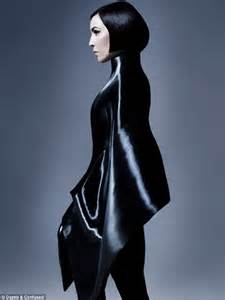 Futuristic Style by Noomi Rapace Takes On Sci Fi Chic For Cover Of Dazed And