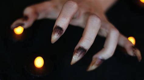werewolf claws tutorial halloween nails werewolves and halloween on pinterest