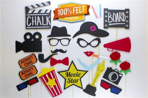 printable photo booth props oscar and the oscar goes to