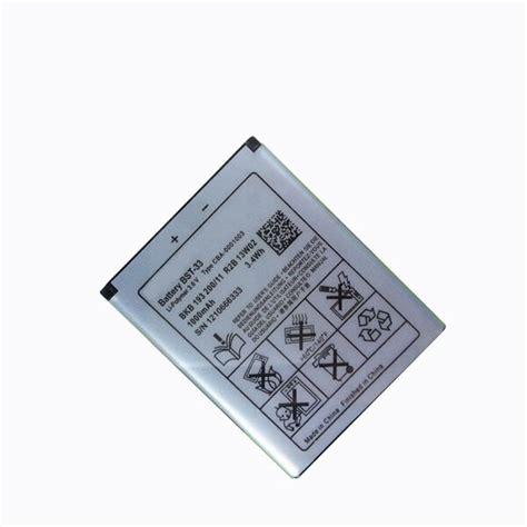 Baterai Battery Original Sony Ericsson Bst 33 K800i C903 W395 W880i get cheap k800i aliexpress alibaba