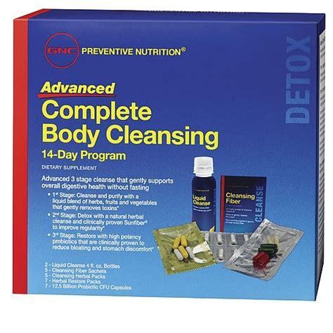 Gnc Detox Cleanse 2 Day by Gnc Preventative 2 Day Nutrition Advanced