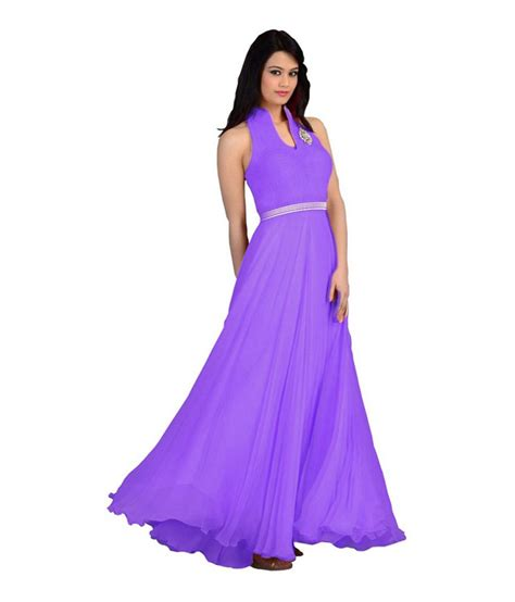 Dress Branded Ond Poplin Plain Purple arti fashion purple plain georgette anarkali gown dress material buy arti fashion purple plain