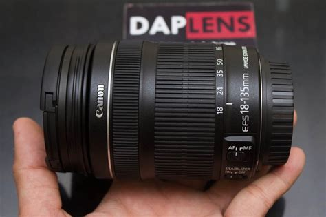 Lensa Canon Efs 18 135mm F Is jual daplens canon ef s 18 135mm f 3 5 5 6 is stm mulus