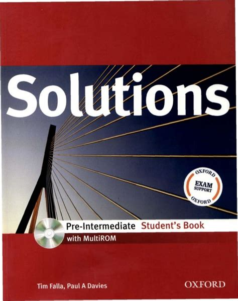 solutions pre intermediate students book 846738199x solutions pre intermediate sb