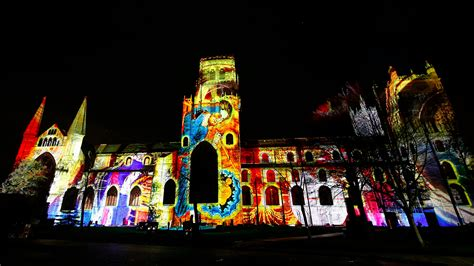 durham prepares to switch on their christmas lights tyne