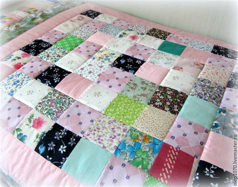 Patchwork Quilt Blanket - baby quilt blanket tenderness shop on livemaster