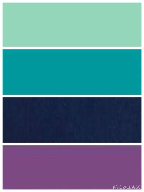 blue and purple color palette ideas mint teal navy and purple color scheme dorm room