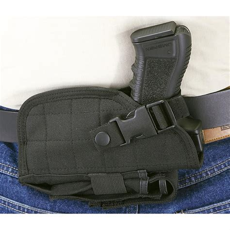 voodoo tactical holster voodoo tactical hip holster black 176900 holsters at