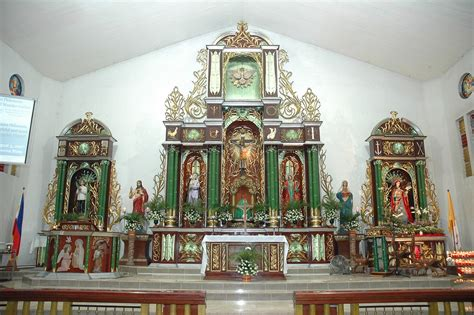 masambong church retablo  holy redeemer parish