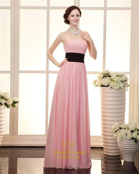 light pink strapless dress light pink bridesmaid dresses chiffon strapless cute light