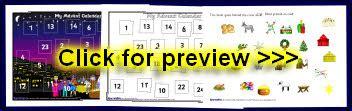 make an advent calendar eyfs eyfs ks1 advent calendar classroom displays and