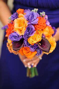 wedding flowers orange county california 2 bridesmaids in purple on purple bridesmaid