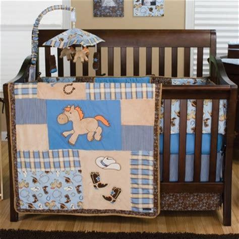 Cowboy Baby Crib Bedding Trend Lab Cowboy Baby 4 Crib Bedding Set Free Shipping