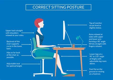 better posture sitting at desk correct sittingposture sitting posture ergonomic