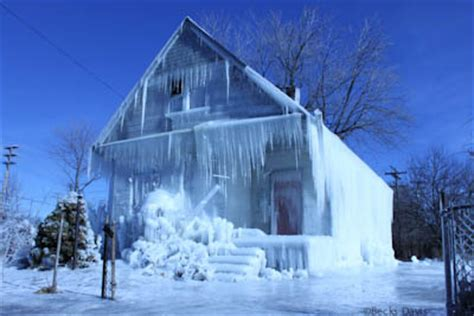 Frozen House by Baby Detroit Moxie
