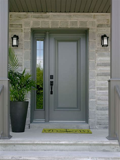Front Doors Canada Single Front Door With One Sidelight Images Front Doors Front Doors