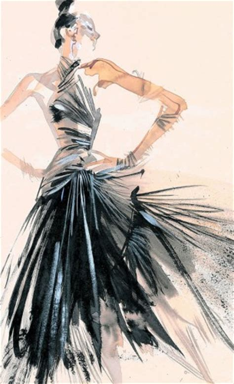 fashion illustration painting loveisspeed david downton illustrations