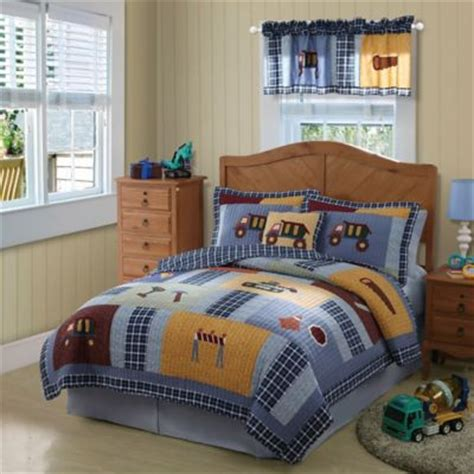 construction toddler bed buy construction toddler bedding set from bed bath beyond