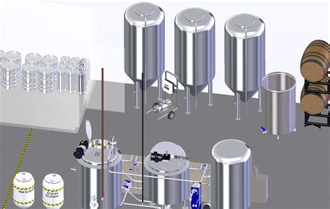 10 floor brewery brewery layout and floor plans initial setup design