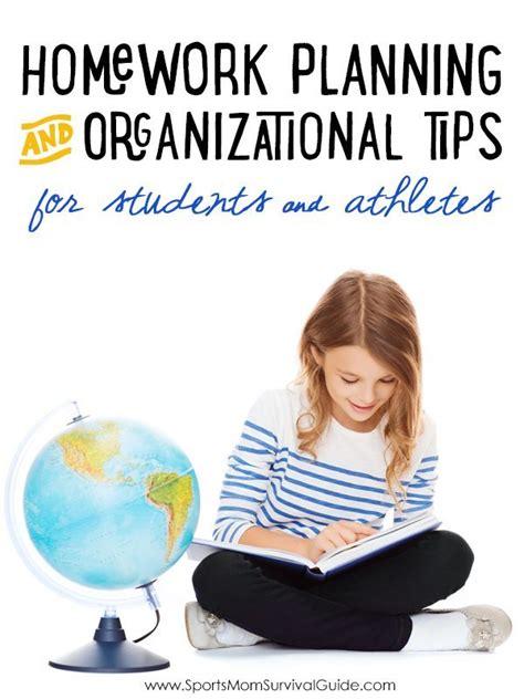 homework organization and planning skills homework planning organizational tips for students