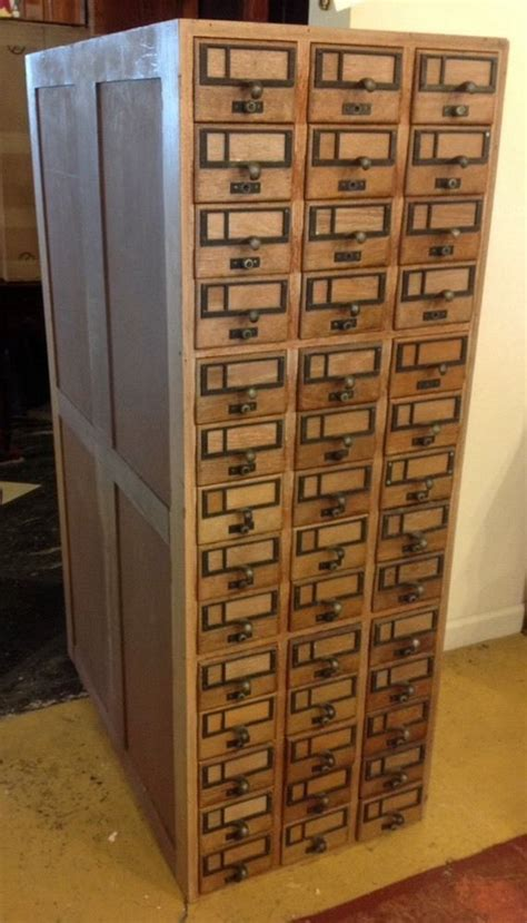 library card catalog cabinet 14 best images about cabinet on pinterest coats oak