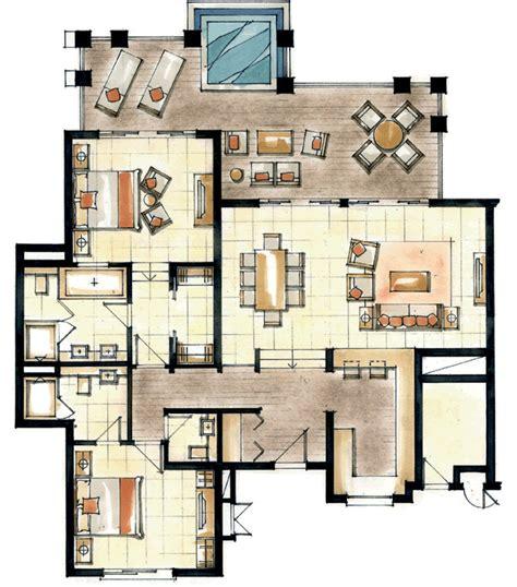10 bedroom resort floor plans anahita the resort floor plan 2 bedroom apt png 680 215 772