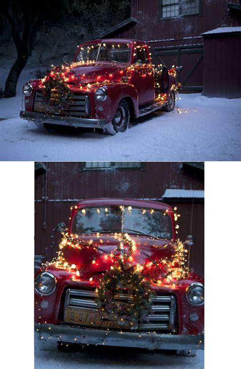 rocks  truck decod  christmas christmas christmas red truck christmas car