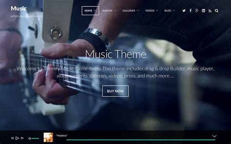 themes music mp3 45 best music wordpress themes 2018 athemes