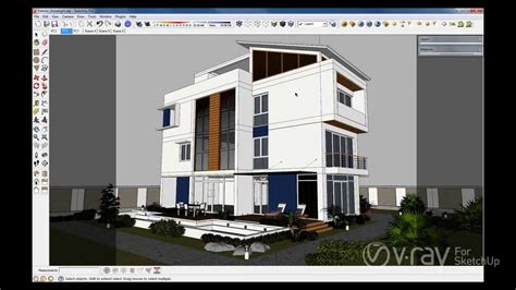 vray dome sketchup tutorial v ray 2 0 for sketchup dome light youtube