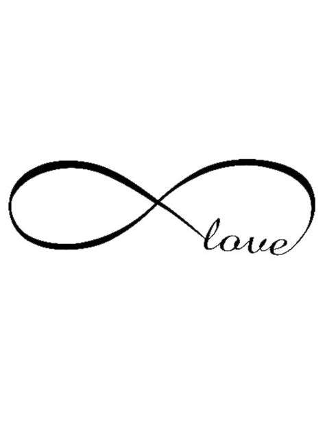 infinite love tattoo designs forever free design ideas